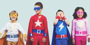 Branding superhero kids