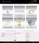 G F Perry Jewellers website