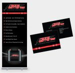 Racing Batteries Roller Banner and Business Cards