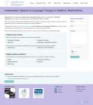 Speakmore web design